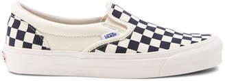 Vans OG Classic Checkerboard Slip On LX