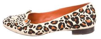 Charlotte Olympia Feral Round-Toe Flats