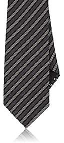Tom Ford MEN'S STRIPED SILK-COTTON NECKTIE - ASSORTED