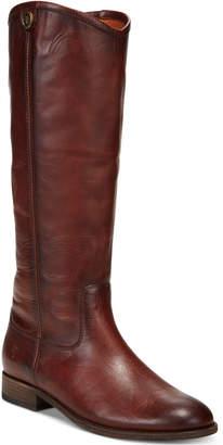 Frye Women's Melissa Button Wide-Calf Tall Boots Women's Shoes