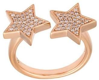 Alinka 'Stasia' double diamond star ring