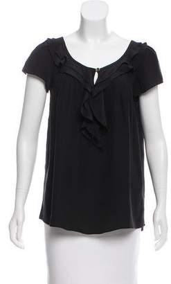ALICE by Temperley Silk Sleeveless Top