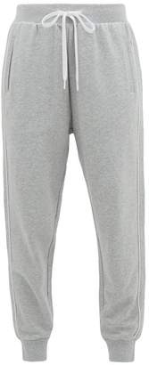 The Upside One Love Cotton Jersey Track Pants - Womens - Grey