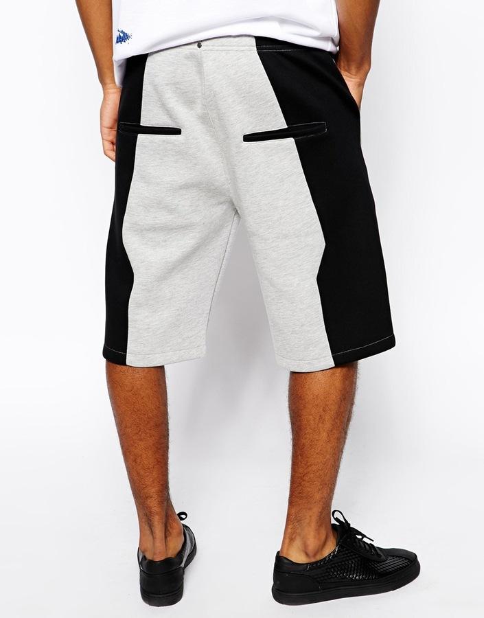 Asos Panelled Shorts