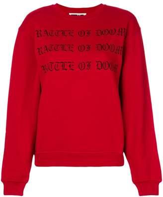 McQ Fear Nothing sweatshirt