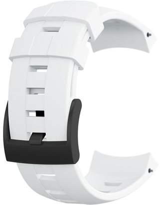 Suunto Ambit3 Vertical Silicone White Strap - SS022005000