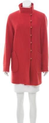 Oscar de la Renta Oscar by Wool & Angora Coat