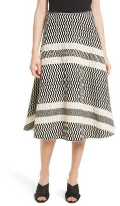 Women's Tracy Reese Flared Skirt $298 thestylecure.com