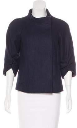 Tibi Asymmetrical Wool Jacket