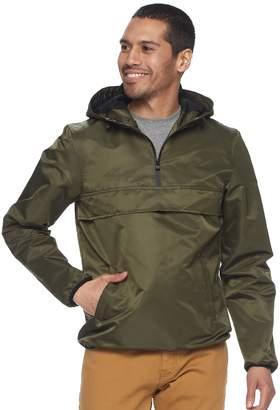 X-Ray Xray Men's XRAY Reflective Hooded Quarter-Zip Pullover Jacket