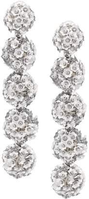 Sachin + Babi Fleur Bouquet earrings