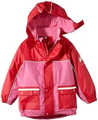 Sterntaler Unisex Baby Fleece Lining Cape Short Sleeve Raincoat,One Size (Manufacturer Size:)