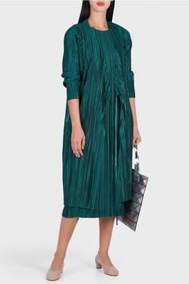 Pleats Please Issey Miyake Shiny Pleats Maxi Dress