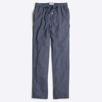 J.Crew Factory Check flannel sleep pant