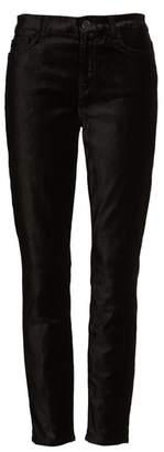 Jen7 Velvet Ankle Skinny High Waist Pants