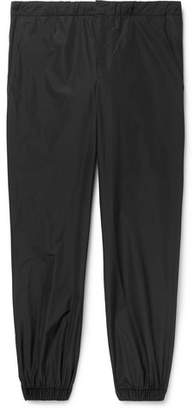 Prada Slim-Fit Tapered Shell Sweatpants
