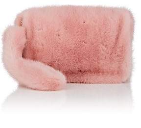 Barneys New York Women's Mink Fur Wristlet - Pink