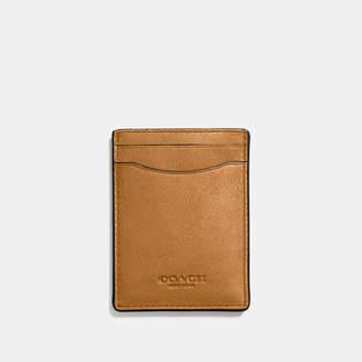 COACH Coach 3-in-1 Card Case In Sport Calf Leather $95 thestylecure.com
