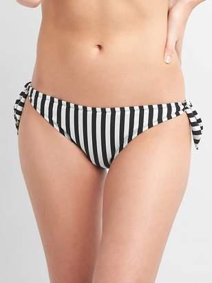 Gap Print Side-Tie Bikini Bottom