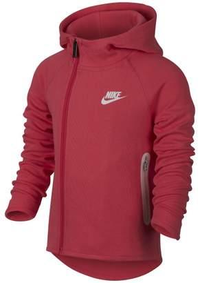 Nike Sportswear Tech Fleece Younger Kids'Full-Zip Hoodie