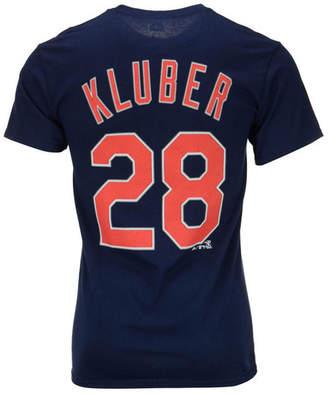Majestic Men Corey Kluber Cleveland Indians Player T-Shirt