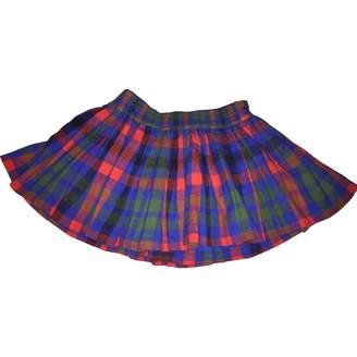 Jack Wills Blue Cotton Skirt for Women