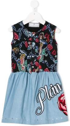 Philipp Plein Junior Pirate dress