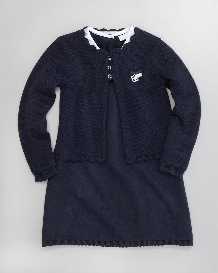 Tartine et Chocolat Carline Knit Cardigan, Sizes 2-6