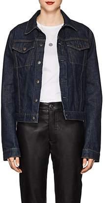 Helmut Lang Women's Striped Denim Jacket