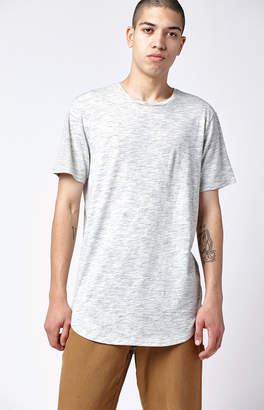 adidas Pacsun Romano Extended Length Scallop T-Shirt