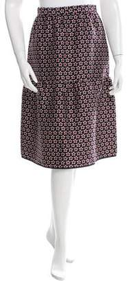 Mother of Pearl Star Printed Knee-Length Skirt w/ Tags