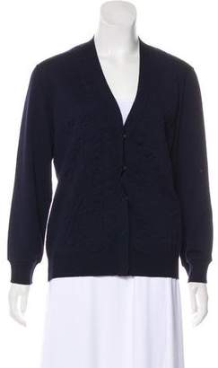 Lanvin Textured Wool Cardigan