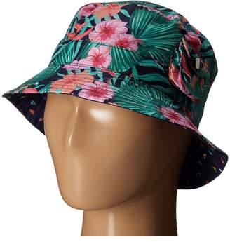 San Diego Hat Company Kids 2 Inch Brim Fishermans Bucket Hat with Functional Pocket Bucket Caps