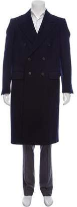 Calvin Klein Double-Breasted Wool Coat