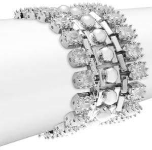 Eddie Borgo Dome Estate Crystal Bracelet