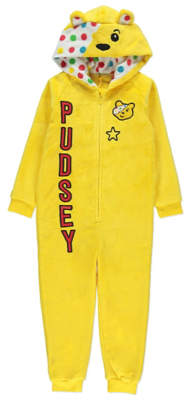 George Children in Need Pudsey Bear Onesie with Cape
