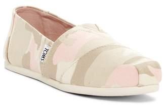 Toms Classic Alpargata Camo Slip-On Shoe