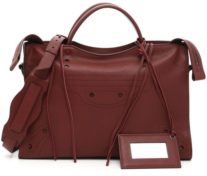 Balenciaga Blackout City Bag