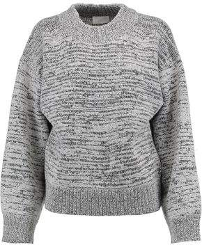 DKNY Two-Tone Knitted Sweater
