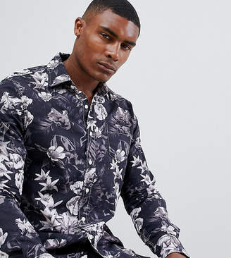 Replay All Over Floral Slim Fit Shirt