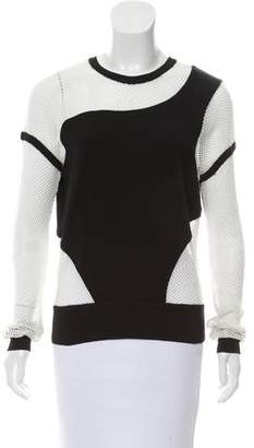 Ohne Titel Netted Crewneck Top w/ Tags
