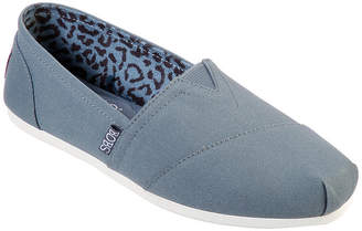 Skechers BOBS FROM  Bobs Womens Plush-Peace And Love Slip-On Shoe Closed Toe