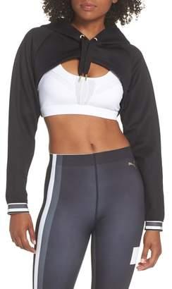 Puma Varsity Cropped Cover-Up Hoodie