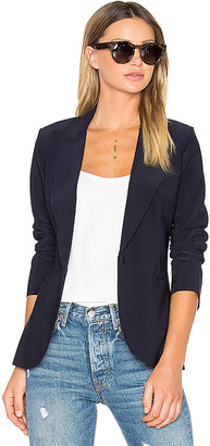 Norma Kamali Single Breasted Jacket in Black $300 thestylecure.com