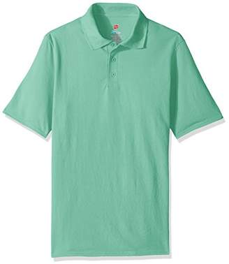 Hanes Men's Short Sleeve X-Temp Polo FreshIQ