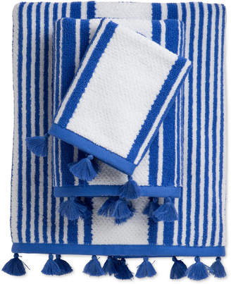 Caro Home Stand Up Stripe Bath Towel Bedding