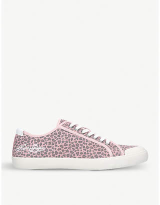 Kurt Geiger London Colt leather low-top trainers