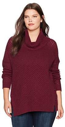 Lucky Brand Women's Alyssa Pullover Plus-Size Sweater