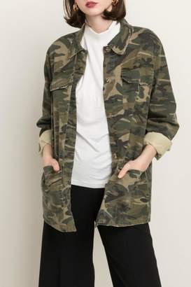 Mystree Camo Army Jacket $82 thestylecure.com