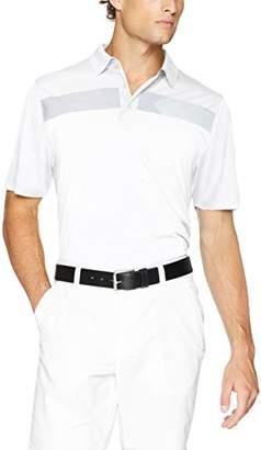 Cutter & Buck Men's Moisture Wicking Drytec Horizontal Print Trent Polo Shirt